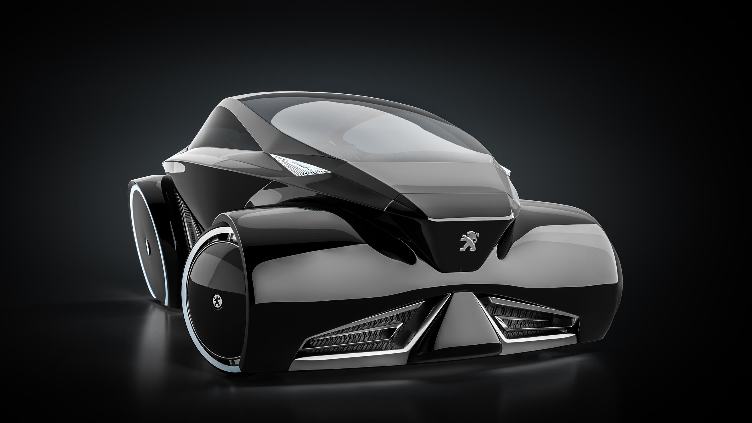 Rugir concept car design redwhite cgi for Conceptual designs